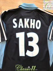 2001/02 Marseille Away Ligue 1 Football Shirt Sakho #13 (B)