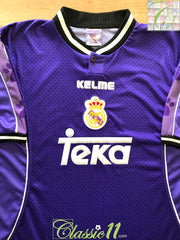 1997/98 Real Madrid Away Football Shirt (XL)