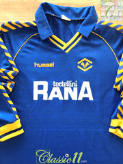 1989/90 Hellas Verona Home Football Shirt. (XL)