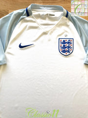 2016/17 England Home Football Shirt (M)
