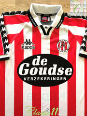 1996/97 Sparta Rotterdam Home Football Shirt (M)