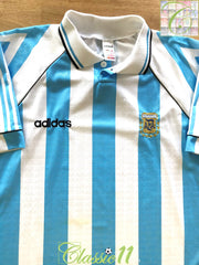 1996 Argentina Home Football Shirt (XL)