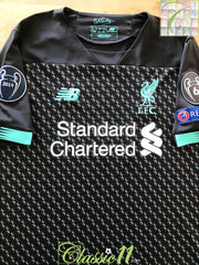 2019/20 Liverpool 3rd Champions League Football Shirt (M)