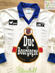 1990/91 Auxerre Home Football Shirt. (L)