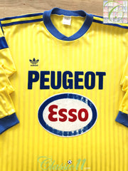 1990/91 Sochaux Home Football Shirt. (L)