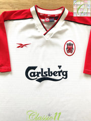 1998/99 Liverpool Away Football Shirt (L)