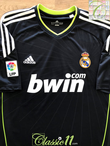 2010/11 Real Madrid Away La Liga Football Shirt (XL)