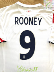 2005/06 England Home Football Shirt Rooney #9 (S)