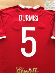 2016/17 Denmark Home Football Shirt Durmisi #5 (L)