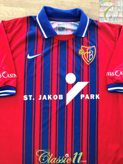 1999/00 FC Basel Home Football Shirt (M)