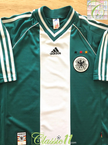 1998/99 Germany Away Football Shirt (L)