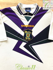 1994/95 Scotland Away Football Shirt (XL)