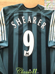 2005/06 Newcastle United Away Premier League Football Shirt Shearer #9 (XL)