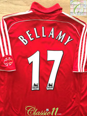 2006/07 Liverpool Home Premier League Football Shirt Bellamy #17 (L)