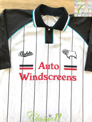 1993/94 Derby County Home Football Shirt (XL)