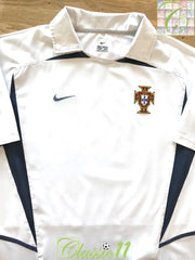 2002/03 Portugal Away Football Shirt (L)