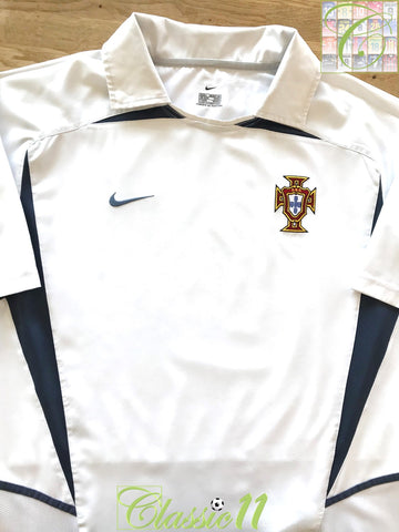 2002/03 Portugal Away Football Shirt (M)