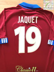 2001/02 Servette Home Football Shirt Jaquet #19 (XL)