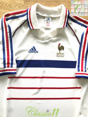 1998 France Away Football Shirt (XL)