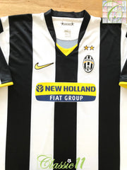 2008/09 Juventus Home Football Shirt (XXL)