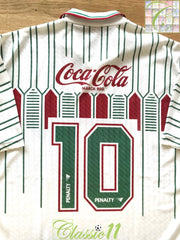1992 Fluminense Away Football Shirt #10 (XL)