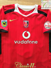 2006 Urawa Red Diamonds Home J.League Football Shirt (L)