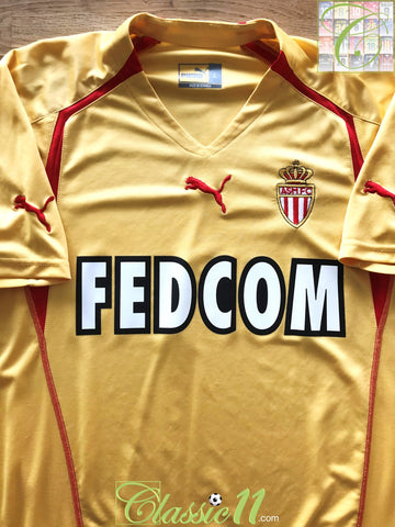 2005/06 Monaco Away Football Shirt (L)