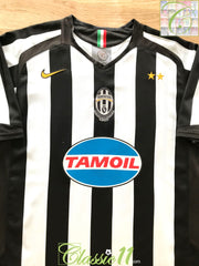 2005/06 Juventus Home Football Shirt (M)