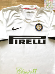 2008/09 Internazionale Away Football Shirt (M)