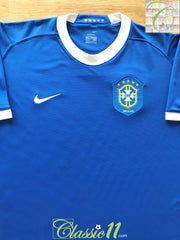2006/07 Brazil Away Football Shirt (S)