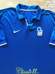 1998/99 Italy Home Football Shirt (B)