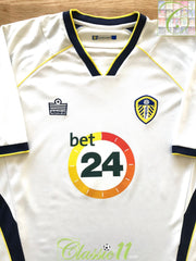 2006/07 Leeds Utd Home Football Shirt (M)