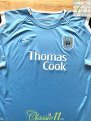2004/05 Man City Home Football Shirt (L)