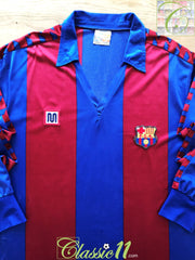 1984/85 Barcelona Home Football Shirt. (S)