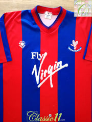 1989/90 Crystal Palace Home Football Shirt (M)