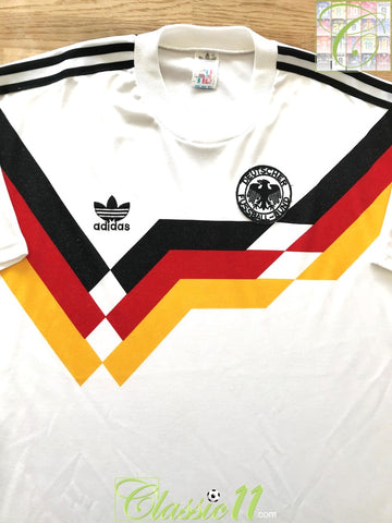 1988/89 West Germany Home Football Shirt (M) (L)