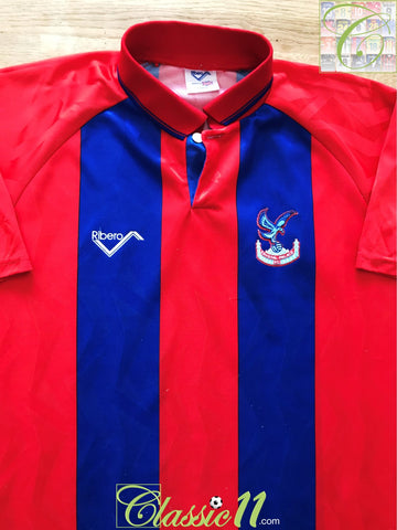 1993/94 Crystal Palace Home Football Shirt (L)