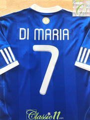 2010/11 Argentina Away Football Shirt Di Maria #7 (M)