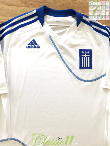 2010/11 Greece Home Football Shirt (S)