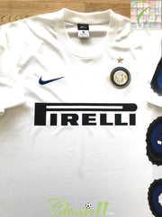 2010/11 Internazionale Away Basic Football Shirt (M)