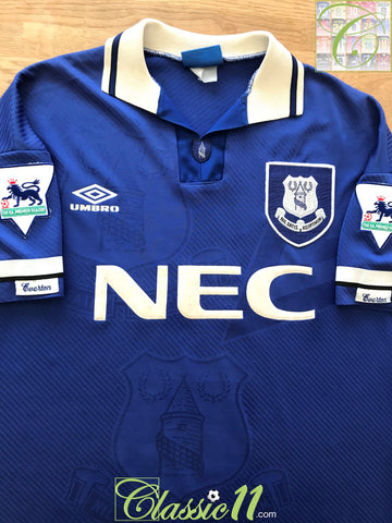1993/94 Everton Home Premier League Football Shirt (L)