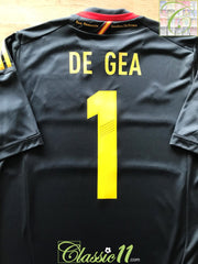2011/12 Spain Goalkeeper Football Shirt De Gea #1 (M)
