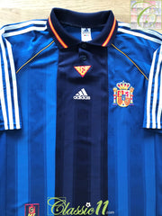 1999/00 Spain Away Football Shirt (XL)
