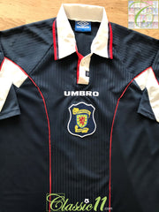 1996/97 Scotland Home Football Shirt (XL)