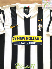 2009/10 Juventus Home Football Shirt (XL)