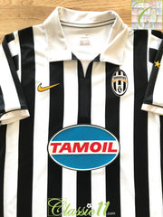 2006/07 Juventus Home Football Shirt (M)