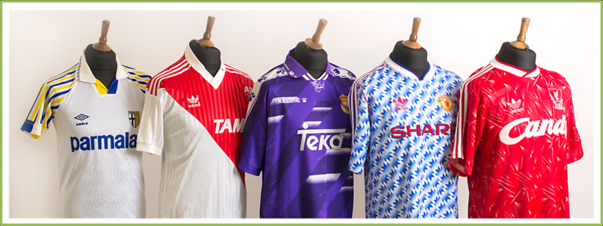 Old Official International Football Shirts