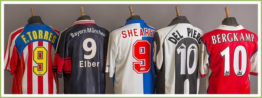 Classic Player Football Shirts