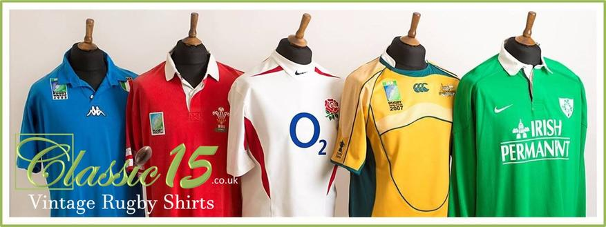 Classic Old Rugby Shirts