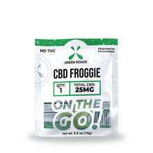 Load image into Gallery viewer, 25mg Froggie CBD Gummie - Green Roads